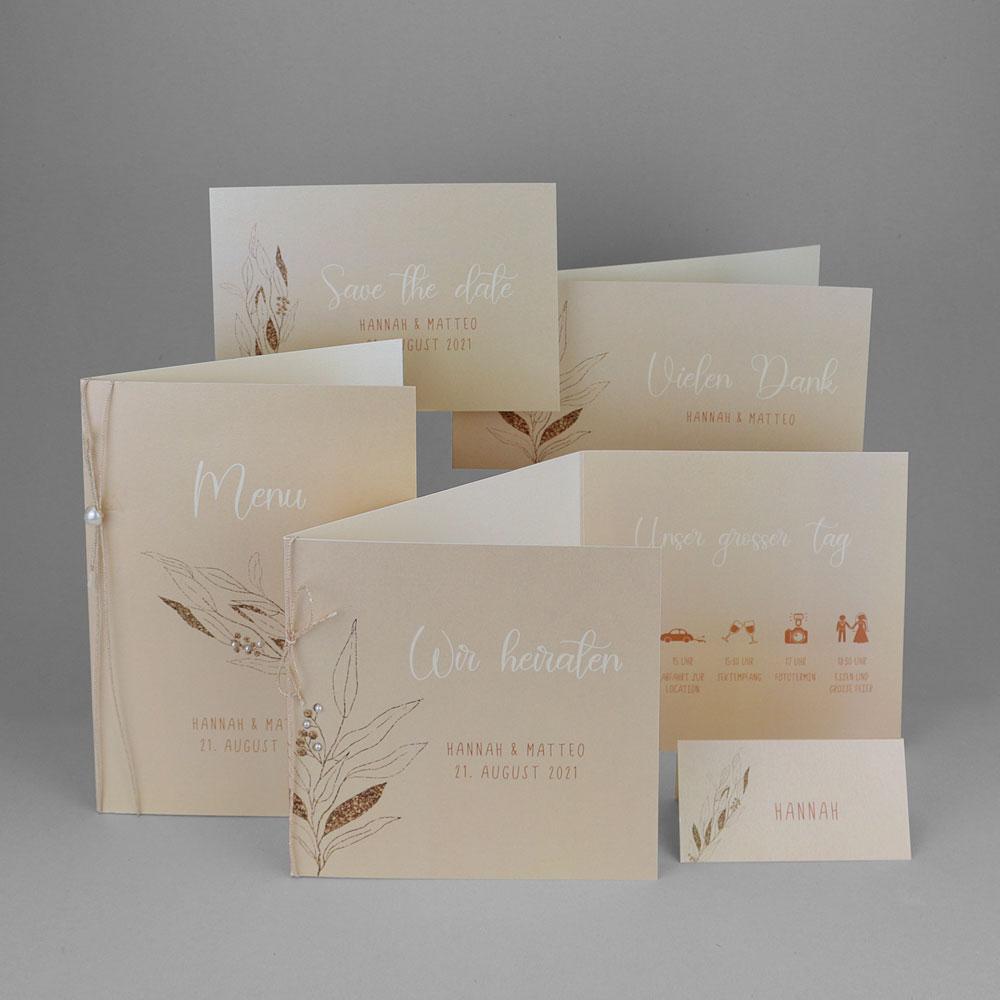 Florales Kartenset (Nr. 505650)