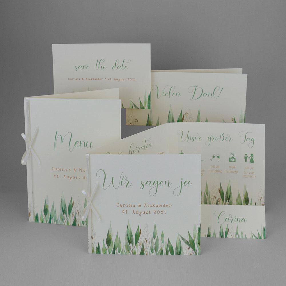 Florales Kartenset (Nr. 505657)