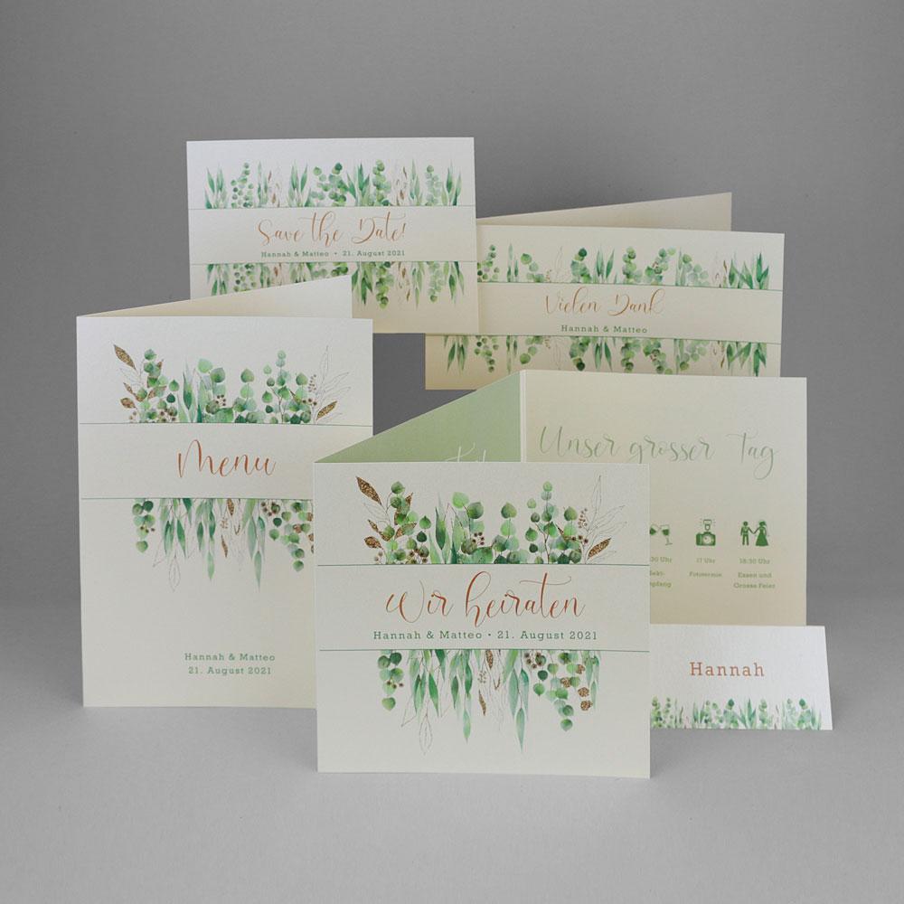 Florales Kartenset (Nr. 505665)